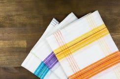 Πετσέτες πιάτων Στοκ εικόνες με δικαίωμα ελεύθερης χρήσης