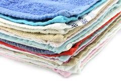 πετσέτες σωρών Στοκ φωτογραφία με δικαίωμα ελεύθερης χρήσης