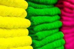 Πετσέτες του Terry Στοκ φωτογραφία με δικαίωμα ελεύθερης χρήσης