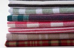 πετσέτες τσαγιού βαμβακ& Στοκ Φωτογραφίες