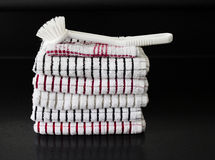 Πετσέτες τσαγιού Στοκ Εικόνα