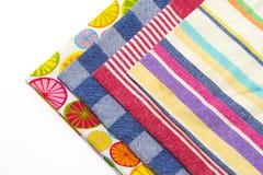 Πετσέτες τσαγιού Στοκ φωτογραφίες με δικαίωμα ελεύθερης χρήσης