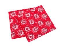 Πετσέτες Χριστουγέννων Στοκ Φωτογραφία