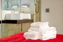 πετσέτες Στοκ φωτογραφίες με δικαίωμα ελεύθερης χρήσης