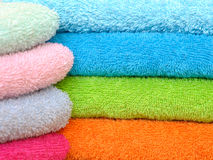 πετσέτες Στοκ εικόνα με δικαίωμα ελεύθερης χρήσης