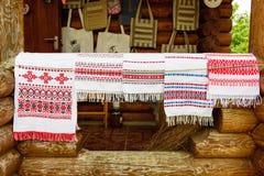 Πετσέτες (rushniki) στοκ εικόνα
