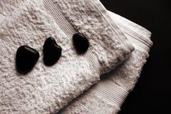 πετσέτες SPA Στοκ εικόνα με δικαίωμα ελεύθερης χρήσης