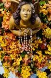 Πετώντας άγαλμα αγγέλου Στοκ Εικόνες