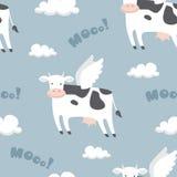 Πετώντας αγελάδες Στοκ φωτογραφία με δικαίωμα ελεύθερης χρήσης