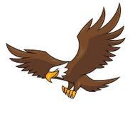 Πετώντας απεικόνιση 2 αετών Στοκ εικόνες με δικαίωμα ελεύθερης χρήσης