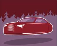 Πετώντας αυτοκίνητο απεικόνιση αποθεμάτων