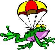 Πετώντας βάτραχος Στοκ Εικόνες
