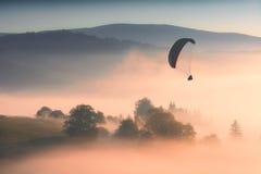 πετώντας βουνά Στοκ Φωτογραφίες