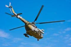 Πετώντας ελικόπτερο Στοκ Εικόνα