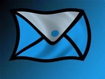 πετώντας επιστολή Στοκ εικόνες με δικαίωμα ελεύθερης χρήσης