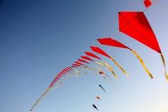 πετώντας ικτίνοι Στοκ φωτογραφία με δικαίωμα ελεύθερης χρήσης