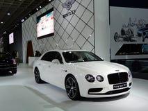 Πετώντας κέντρισμα V8 S Bentley Στοκ Εικόνες