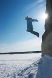 πετώντας κορίτσι Στοκ εικόνες με δικαίωμα ελεύθερης χρήσης