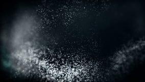 Πετώντας μόρια φω'των απόθεμα βίντεο