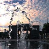 Πετώντας νερό Στοκ Φωτογραφία