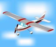 πετώντας ουρανός αεροπλ απεικόνιση αποθεμάτων