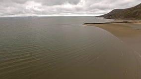 Πετώντας πέρα από παραλία Llandudno, Ουαλία - Ηνωμένο Βασίλειο φιλμ μικρού μήκους