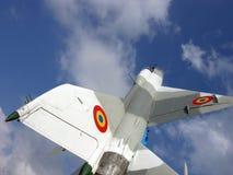 Πετώντας πολεμικό αεροπλάνο Στοκ εικόνες με δικαίωμα ελεύθερης χρήσης
