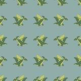 Πετώντας πράσινοι δεινόσαυροι Στοκ φωτογραφία με δικαίωμα ελεύθερης χρήσης