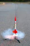 Πετώντας πρότυπος πύραυλος Στοκ Εικόνα
