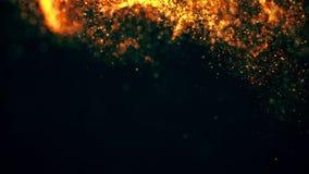 Πετώντας σκόνη αστεριών διανυσματική απεικόνιση