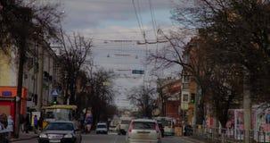 Πετώντας σύννεφα 17/04/2016 του Πολτάβα Taymlaps απόθεμα βίντεο