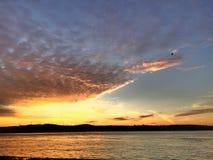 Πετώντας σύννεφο Στοκ Εικόνα