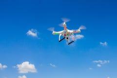 Πετώντας τετράγωνο copter στοκ φωτογραφία με δικαίωμα ελεύθερης χρήσης