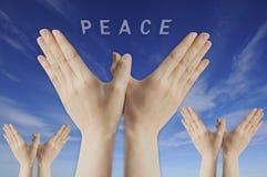 πετώντας χέρι Στοκ εικόνες με δικαίωμα ελεύθερης χρήσης