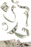 Πετώντας χρήματα Στοκ εικόνα με δικαίωμα ελεύθερης χρήσης