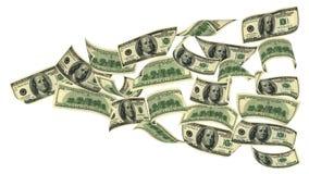 Πετώντας χρήματα Στοκ Φωτογραφία