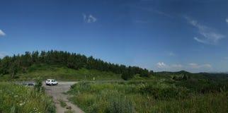 πεύκα σύννεφων Στοκ φωτογραφίες με δικαίωμα ελεύθερης χρήσης