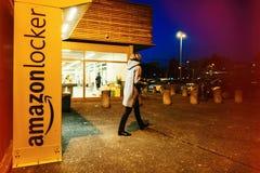 Πελάτης ντουλαπιών του Αμαζονίου Στοκ Εικόνα