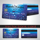 Πελάτης τραπεζικών καρτών διάνυσμα Στοκ Εικόνες