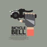 πεδίο βάθους ποδηλάτων κουδουνιών ρηχό ελεύθερη απεικόνιση δικαιώματος