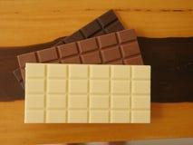 πεδίο βάθους σοκολάτας ράβδων ρηχό Στοκ φωτογραφίες με δικαίωμα ελεύθερης χρήσης