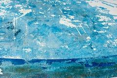 Πελεκημένος από το μπλε χρώμα στοκ φωτογραφία
