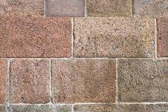 Πελεκημένο υπόβαθρο τοίχων πετρών Στοκ εικόνες με δικαίωμα ελεύθερης χρήσης