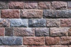 Πελεκημένο υπόβαθρο τοίχων πετρών Στοκ Φωτογραφίες
