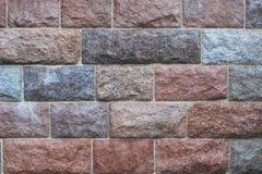 Πελεκημένο υπόβαθρο τοίχων πετρών Στοκ Εικόνες