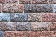 Πελεκημένο υπόβαθρο τοίχων πετρών Στοκ Εικόνα