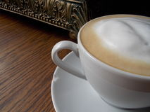 Πελεκημένο Latte ξύλο οριζόντιο Στοκ φωτογραφία με δικαίωμα ελεύθερης χρήσης