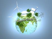 Πηγές ενέργειας στοκ εικόνα με δικαίωμα ελεύθερης χρήσης
