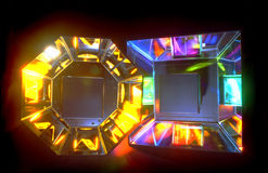 πηγές φωτός χρώματος Στοκ εικόνες με δικαίωμα ελεύθερης χρήσης