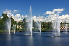 πηγές Στοκ φωτογραφία με δικαίωμα ελεύθερης χρήσης